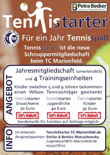 TennisStarter Flyer